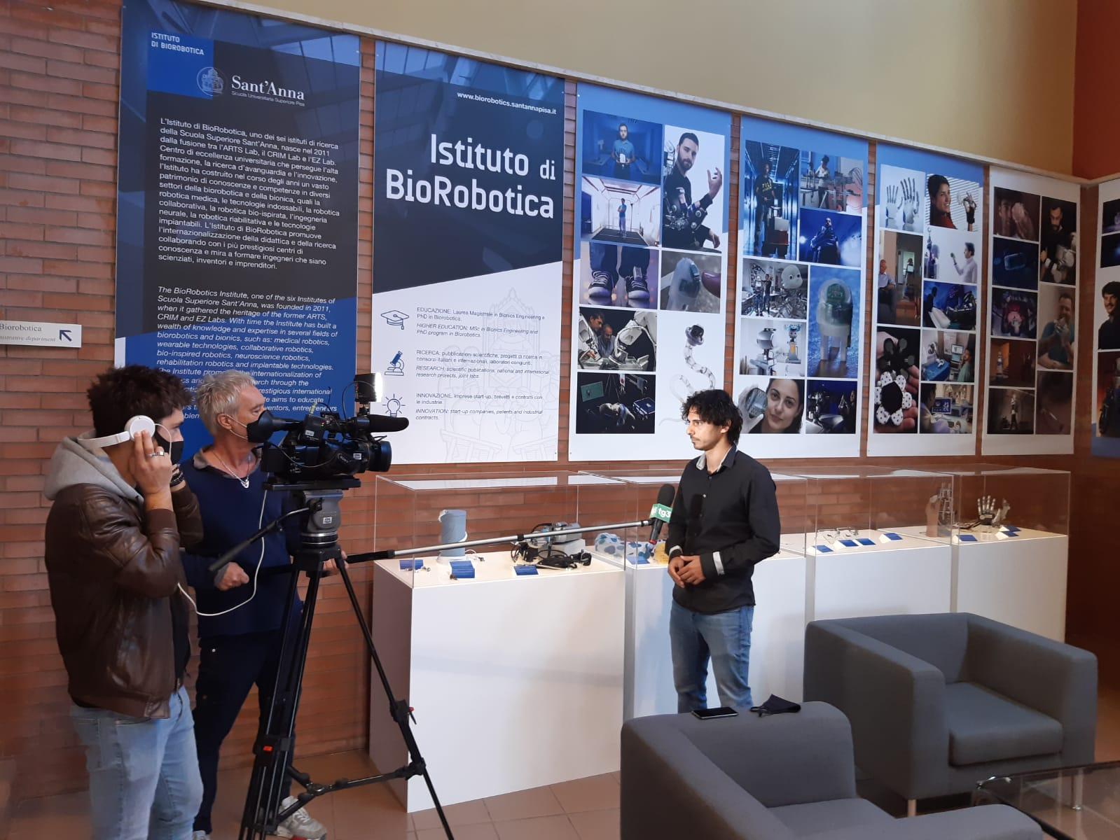 Press review: RAI (Italian State Broadcaster) interviews Leonardo Ricotti